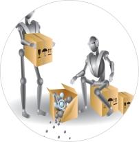 robots circle image